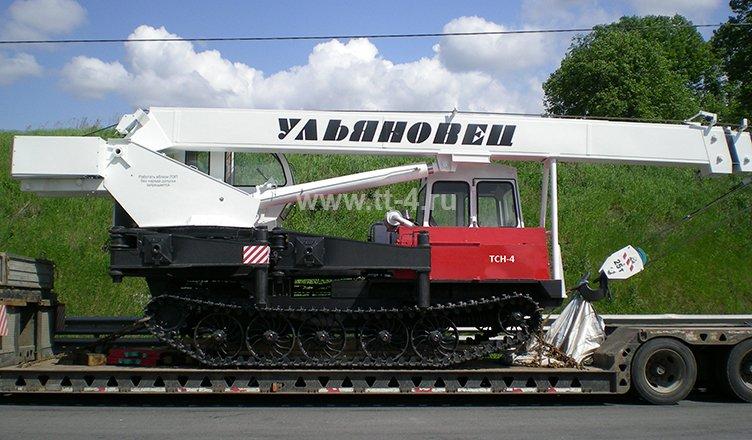 Гусеничный кран МКТ-25 «Ульяновец»