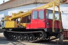 Буровая установка УРБ-2Т на базе трактора ТСН-4