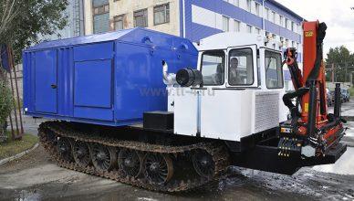 Сварочная установка УЭТ-1 на шасси трактора ТСН-4